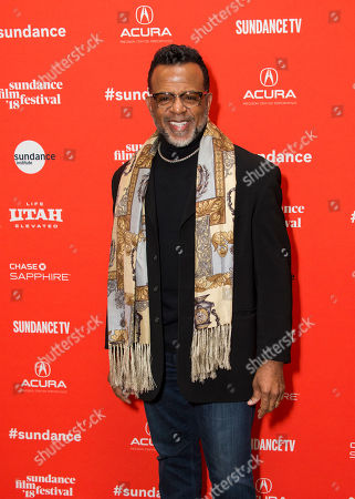 "Bishop Carlton Pearson poses during the premiere of ""Come Sunday"" at the Eccles Theatre during the 2018 Sundance Film Festival, in Park City, Utah"