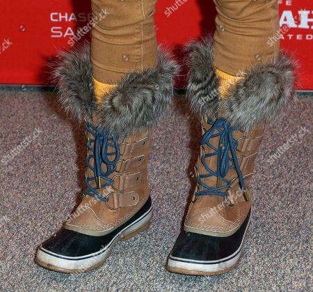Allie McCulloch, shoe detail