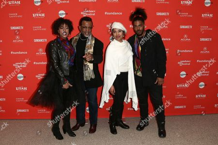 Bishop Carlton Pearson and family