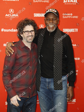 Director Joshua Marston (L) and actor Danny Glover (R) arrive for the premiere of the movie 'Come Sunday' at the 2018 Sundance Film Festival in Park City, Utah, USA, 21 January 2018. The festival runs from  the18 to 28 January.