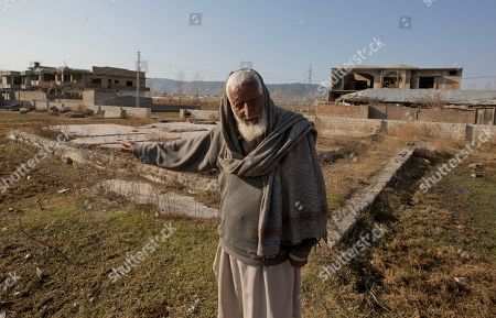 Zain Muhammad, a former watchman for Osama bin Laden talks about him at the remains of bin Laden's house, in Abbottabad, Pakistan. Shakil Afridi, who reportedly used a vaccination scam to identify Osama bin Laden's home, has been languishing in jail since the al-Qaida leader was killed by U.S. Navy Seals in 2011 -- his case a metaphor for downward spiraling relations between his country and the U.S