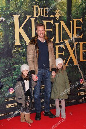 Herbert L. Kloiber mit seinen Kinder