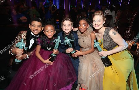 Editorial image of People and EIF's Annual Screen Actors Guild Awards Gala sponsored by TNT at the Shrine Auditorium, Los Angeles, CA, USA - 21 Jan 2018