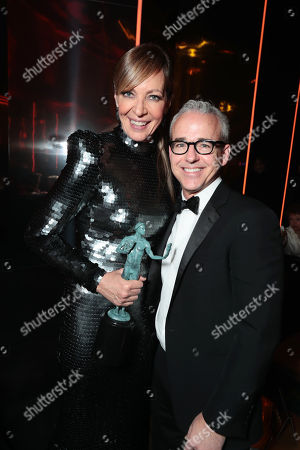 Allison Janney, Jess Cagle, Editor of People Magazine,