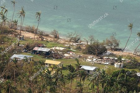 Aerial. In this aerial photo supplied by the New Zealand Defense Force, debris is scattered around damaged buildings at Susui village in Fiji, after Cyclone Winston tore through the island nation. Fijians were finally able to venture outside Monday after authorities lifted a curfew but much of the country remained without electricity in the wake of a ferocious cyclone that left at least six people dead and destroyed hundreds of homes