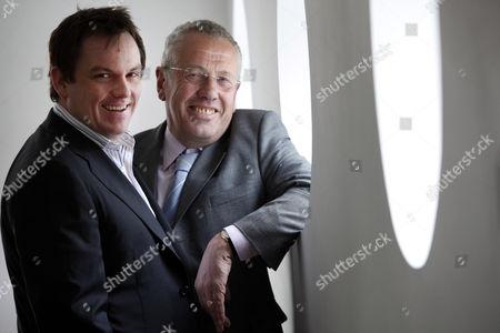 CEO, David Ferguson (left) and Chairman, Paul Bradshaw (right) of Nucleus Financial