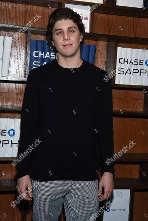 "Actor Lukas Gage attends the ""Assassination Nation"" cast party at Chase Sapphire on Main, in Park City, Utah"