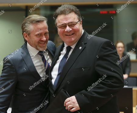 Anders Samuelson and Linas Linkevicius