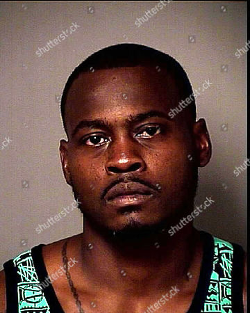 This photo released by the Osceola County Sheriff's Office shows Tarvaris Jackson. The former Seattle Seahawks quarterback was arrested in central Florida after authorities say he pulled a gun on his wife. An Osceola County Sheriff's Office arrest report says the 33-year-old Jackson had been visiting family in Kissimmee when the incident occurred early