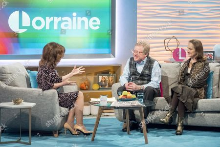 Lorraine Kelly, David Jensen and his wife Gudrun
