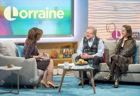 Lorraine Kelly, David Jensen and his wife Gudrun