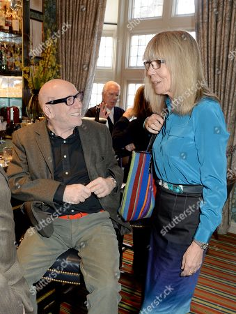 Brian Clarke and Penelope Tree