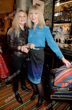 Penelope Tree (R) with friend