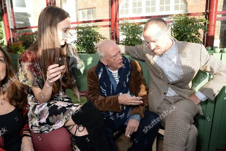 Sarah Stanbury, David Bailey and Tim Walker