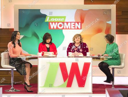 Christine Lampard, Coleen Nolan, Michelle McManus and Saira Khan