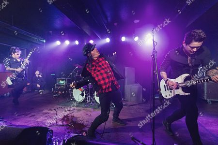 Editorial image of Escape The Fate in concert at Club Academy, Manchester, UK - 21 Jan 2018