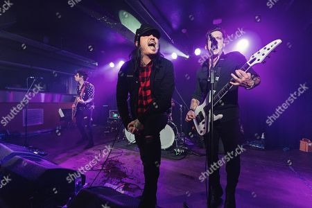 Stock Image of Escape The Fate - Kevin Gruft, Craig Mabbitt, TJ Bell