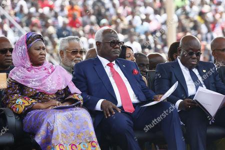 Ernest Bai Koroma, Nana Akufo-Addo and Fatoumata Tambajang