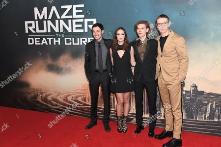 Editorial image of 'Maze Runner: The Death Cure' film premiere, London, UK - 22 Jan 2018