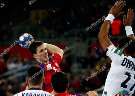 Editorial photo of Handball, Zagreb, Croatia - 22 Jan 2018