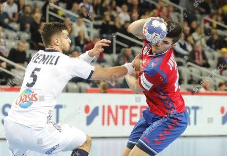 Editorial picture of EHF Handball Men European Championship 2018, Zagreb, Croatia - 22 Jan 2018