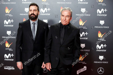 Editorial photo of Feroz Film Awards ceremony, Madrid, Spain - 22 Jan 2018