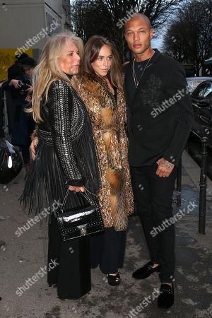 Lady Tina Green, Chloe Green and Jeremy Meeks