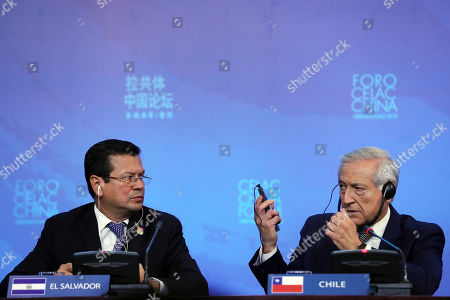 Heraldo Munoz and Hugo Martinez