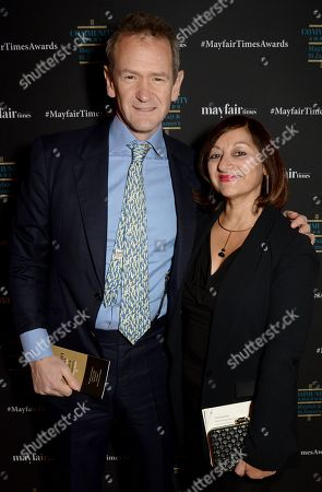 Alexander Armstrong and Selma Day