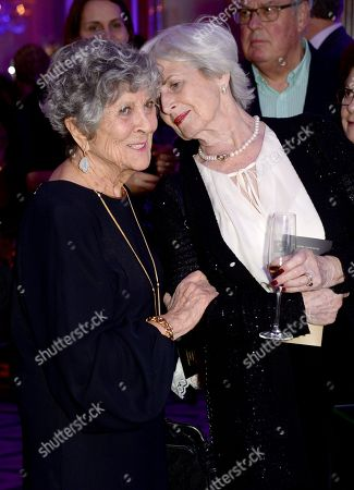 Joan Burstein and guest