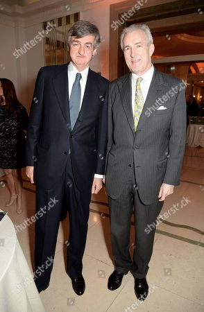 Stock Image of Robin Birley and Jeremy King