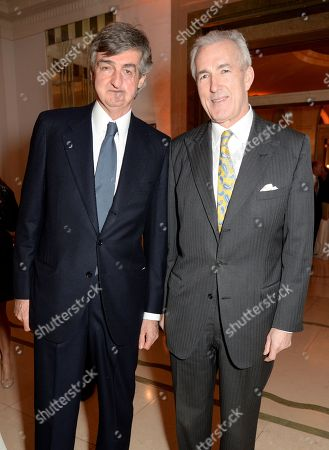 Stock Picture of Robin Birley and Jeremy King