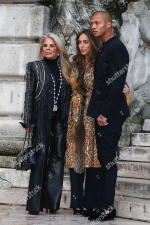 Editorial picture of Ralph and Russo show, Arrivals, Haute Couture Fashion Week, Paris, France - 22 Jan 2018