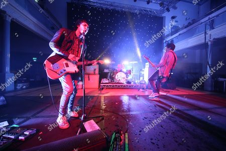 The Cribs - Ryan Jarman, Ross Jarman and Gary Jarman