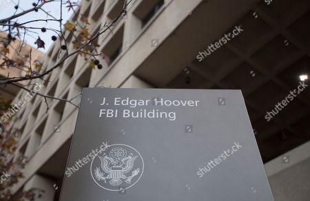 Stock Photo of The J. Edgar Hoover Federal Bureau of Investigations (FBI) Building is seen in Washington