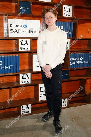 Chef Flynn McGarry poses for a photo at LA Times Studio @ Sundance Film Festival Presented by Chase Sapphire, in Park City, Utah