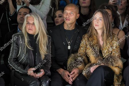 Stock Picture of Lady Tina Green, Jeremy Meeks and Chloe Green