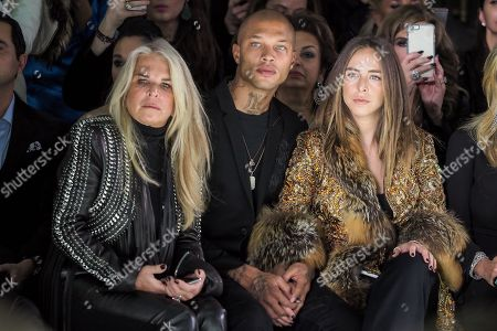 Stock Image of Lady Tina Green, Jeremy Meeks and Chloe Green