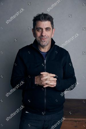 "Eugene Jarecki poses for a portrait to promote the film ""The King"" at the Music Lodge during the Sundance Film Festival, in Park City, Utah"