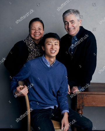 Director Bing Liu, from left, producer Diane Quon and executive producer Steve James