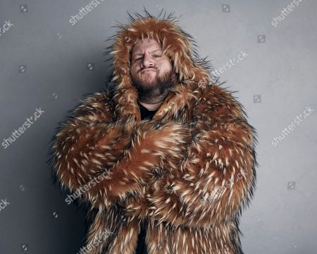 "Stephen Kramer Glickman poses for a portrait to promote the film ""White Fang"" at the Music Lodge during the Sundance Film Festival, in Park City, Utah"