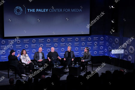 David Wild (Writer, Producer), Chantel Sausedo (Talent Producer), Jack Sussman (Exec. Prod. Live Events; CBS), Ken Ehrlich (Exec. Producer), Neil Portnow (Pres & CEO; Recording Academy) and Scott Goldman (Exec. Director; GRAMMY Museum)