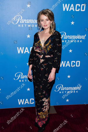 """Editorial picture of World Premiere of """"Waco"""", New York, USA - 22 Jan 2018"""