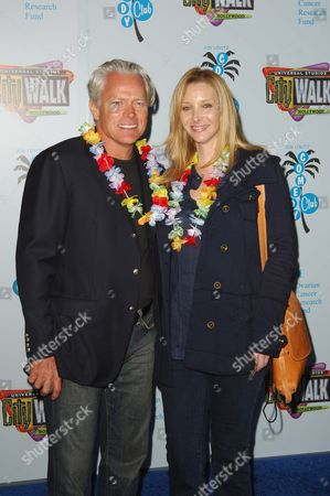 Stock Picture of Lisa Kudrow and husband Michel Stern