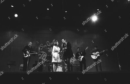 'Johnny Cash at San Quentin'  - Marshall Grant, June Carter Cash, Johnny Cash, Bob Wootton and Carl Perkins
