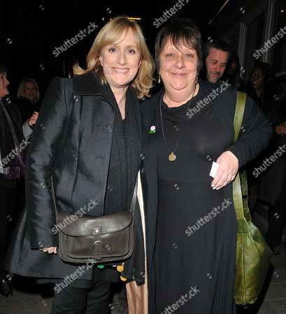 Stock Picture of Jenna Russell and Kathy Burke