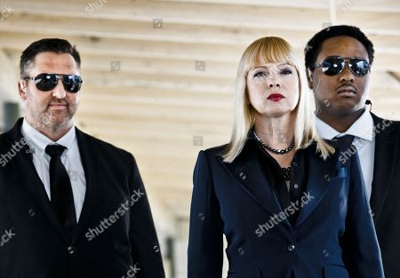 Stock Photo of Mike Shaffrey, Traci Lords, Dwight Carter