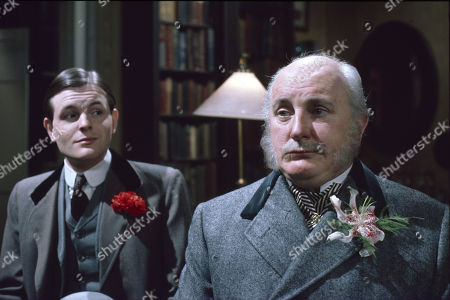 Stock Picture of Osmund Bullock (as Viscount Crowley) and Michael Barrington (as Earl of Milchester)