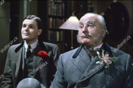 Osmund Bullock (as Viscount Crowley) and Michael Barrington (as Earl of Milchester)