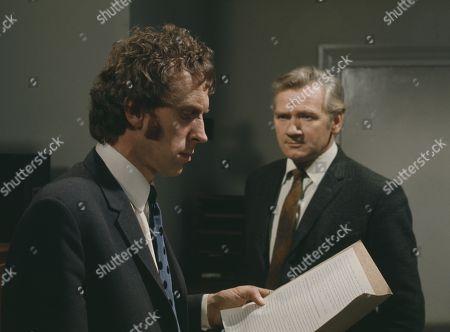 Percy Herbert, as Supt. Kellaway and Michael Coles, as Det. Sgt. Gable